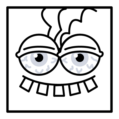 Image result for gorillaz noodle | Abstract coloring pages ... | 500x500